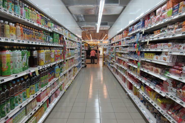 élelmiszer, áruház, vásárlás