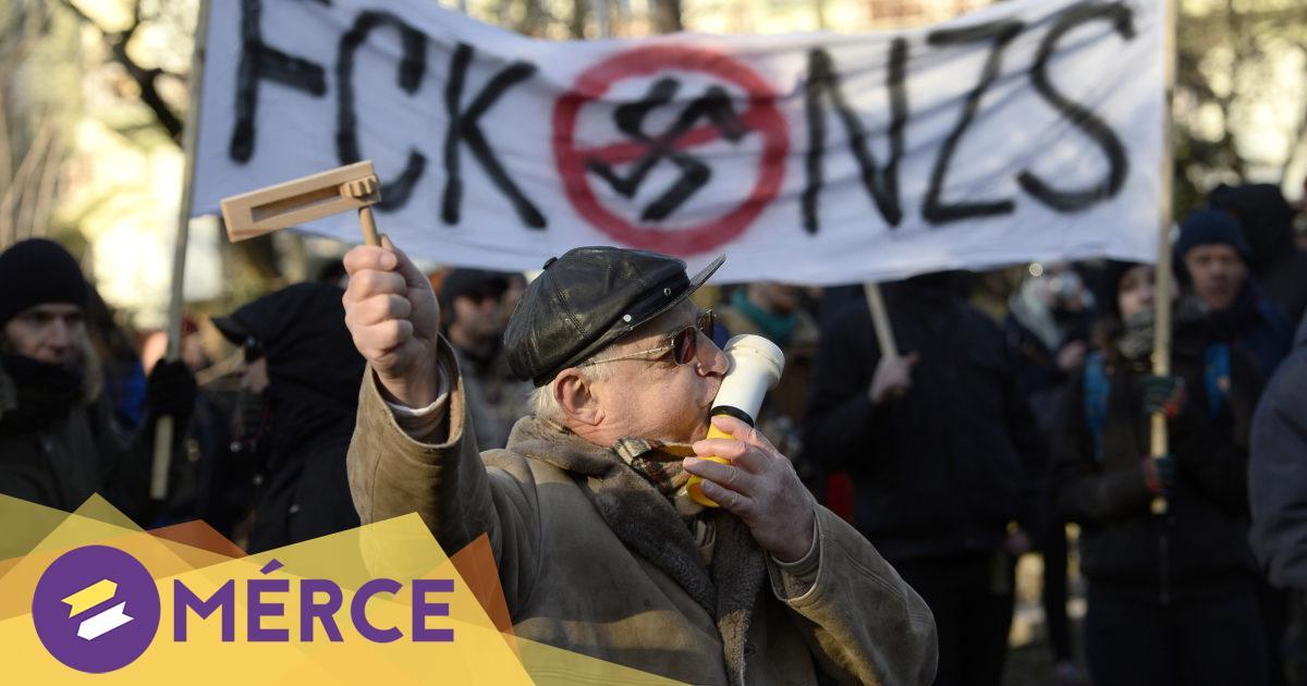 Antifasizmus és erőszak: etikátlan-e neonáci bőrfejűeket táblával hátba vágni?