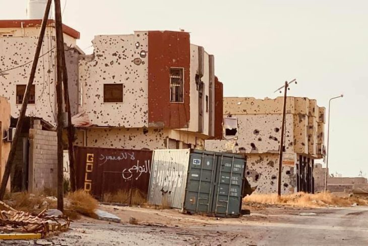 Líbia tripoli haftár