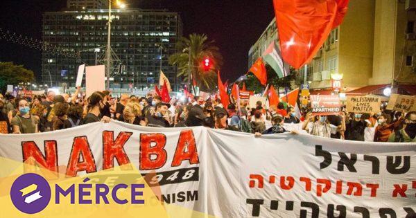 Több ezren tüntettek Izraelben Netanjahu ciszjordániai annexiós terve ellen