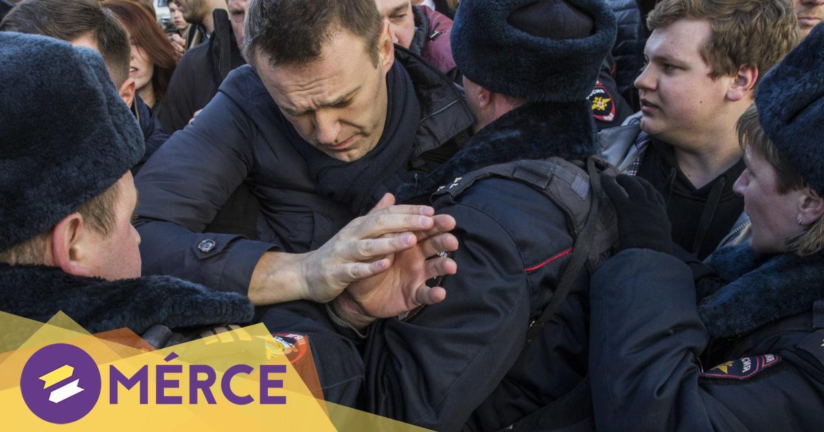 Több újságírót és Navalnij ügyvédjét is őrizetbe vették az orosz tüntetéseken