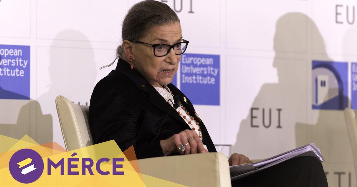 Meghalt Ruth Bader Ginsburg amerikai legfelsőbb bíró
