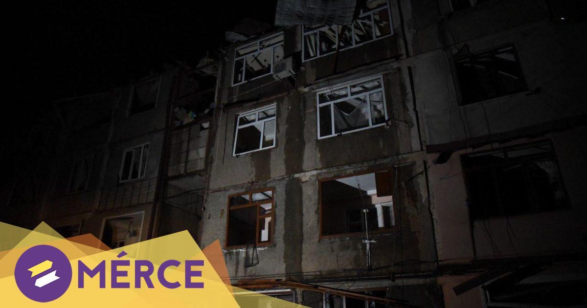 Helyi közlések szerint tiltott kazettás bombákkal támadta Azerbajdzsán Hegyi-Karabah fővárosát