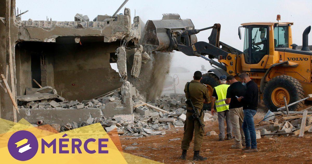 Hetvenhárom ember házát romboltatta le az izraeli hadsereg Palesztinában