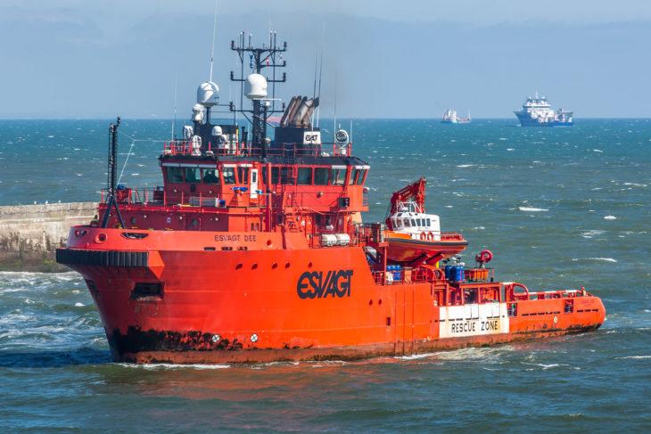 dánia, olajkutató hajó, olajipar, skócia