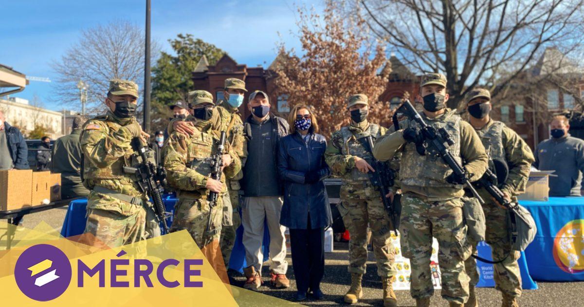 Ellenőrzőpontok, szögesdrót, katonai mozgósítás: az USA készül a szélsőségesek tüntetéseire