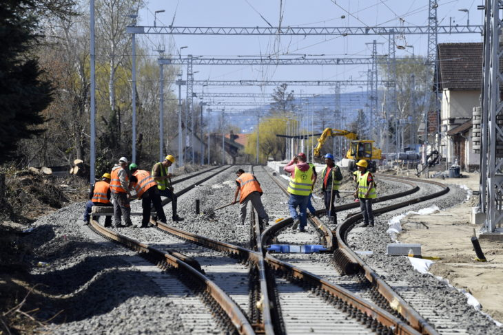 munkások vasút vasutas
