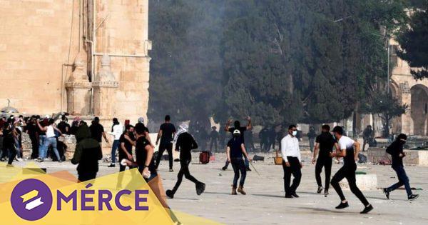 Több mint kétszázan kerültek kórházba az izraeli rendőrségi erőszak miatt az Al-Aksza mecsetnél « Mérce