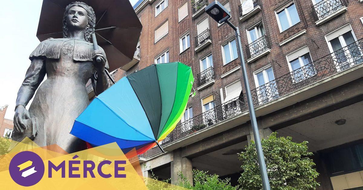 Lezárt utcákon vonul az első Pécs Pride, nem lehet akárhol szabadon csatlakozni a menethez « Mérce