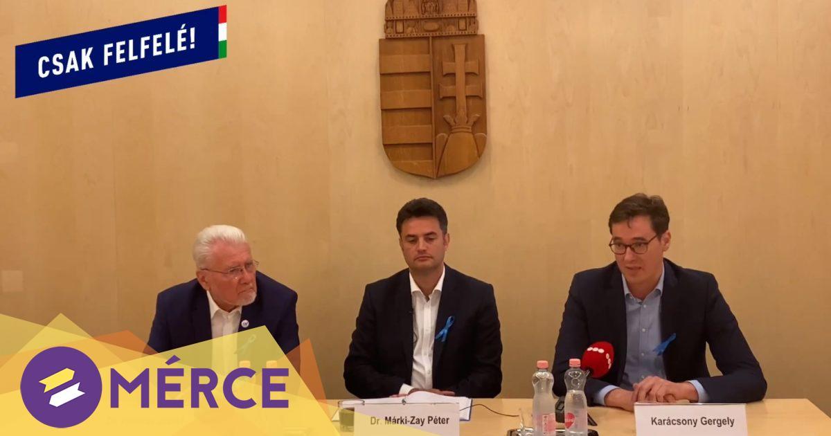 Márki-Zay két ellenzéki frakciót is választott az előválasztáson való részvételhez « Mérce