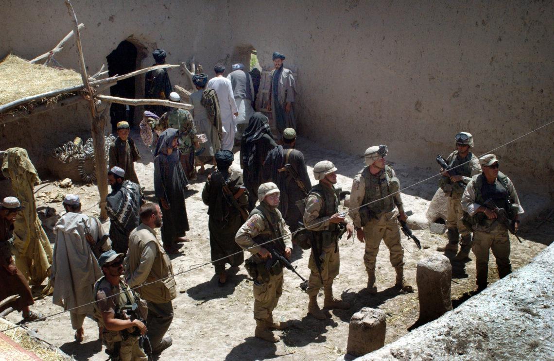 afganisztán usa háború