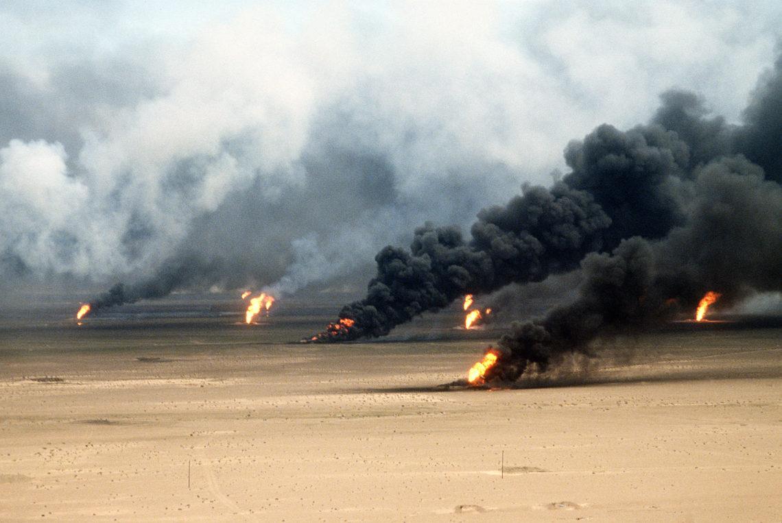 kuvait olajkutak sivatagi vihar hadművelet