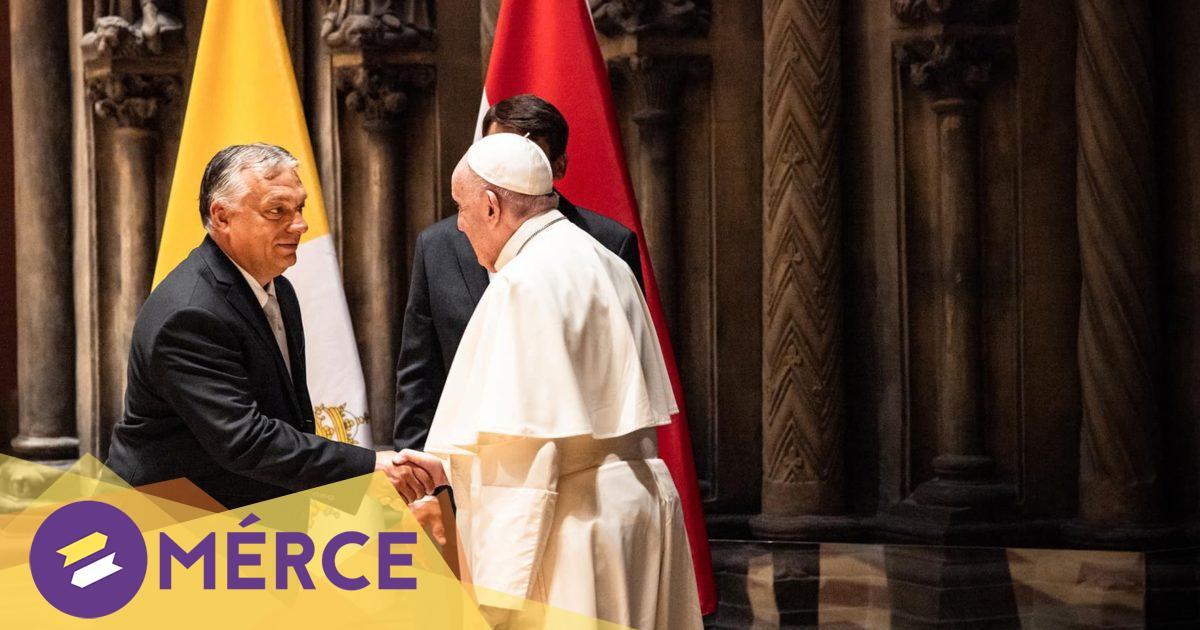 A gyűlölet hullámai ellen kell dolgozni – üzente Ferenc pápa Budapesten « Mérce