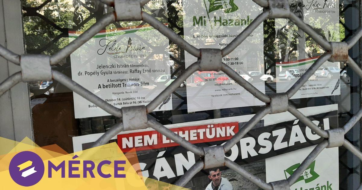 Cigány emberek ellen uszító, nyíltan rasszista plakát került ki a Mi Hazánk józsefvárosi irodájának ajtajára « Mérce