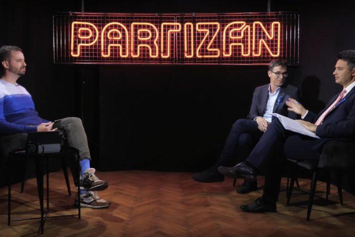 Partizán interjú október 8-án pénteken Karácsony Gergellyel és Márki-Zay Péterrel
