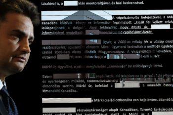 Márki-Zay Péter a kitakart jelentéssel és az Alkotmányvédelmi Hivatallal összemontázsolva
